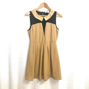 F21 Peter Pan collar short dress